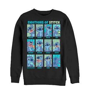 Disney Lilo & Stitch Emotions Crew Sweatshirt